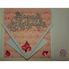 Happy birthday_silver_square arrow card