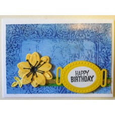 Happy birthday_yellow flower