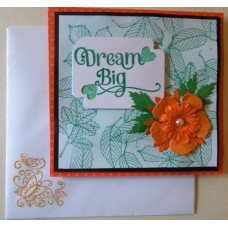 Dream big_orange flower