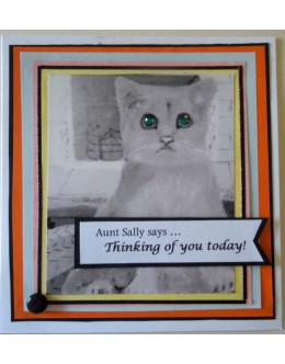 Aunt Sally says_Thinking of you today